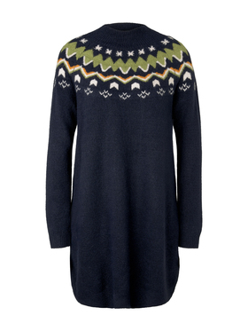 knitted fairisle dress