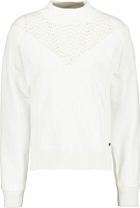 Pullover mit offen gearbeitetem Details