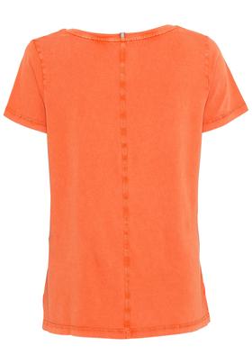 T-Shirt mit V-Neck