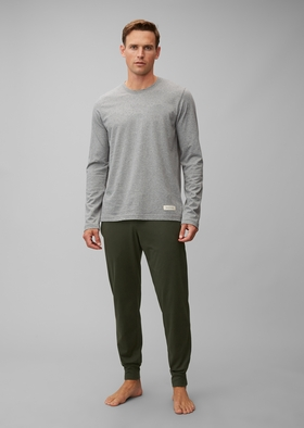 M-LOUNGESET LS CREW-NECK