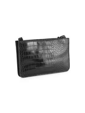 MARIS Cross bag, croco black