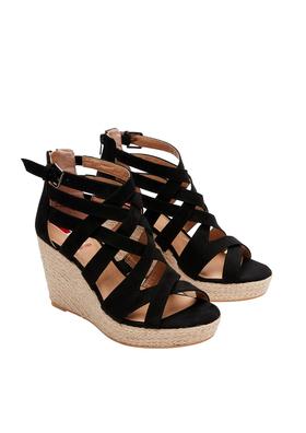 Keil-Sandaletten