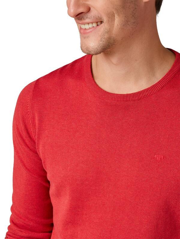 Basic Herren-Strick-Pullover