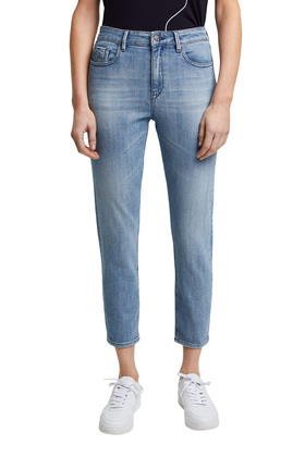 Cropped Jeans aus Organic Cotton
