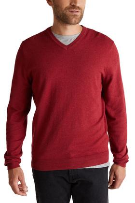 Mit Kaschmir: Pullover aus Organic Cotton