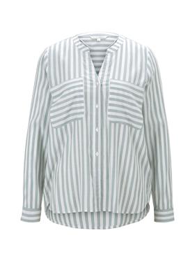striped cozy button down shirt
