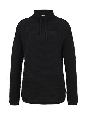 pullover mock neck ottoman
