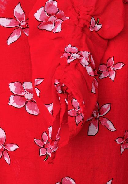 Zarte Bluse mit Print