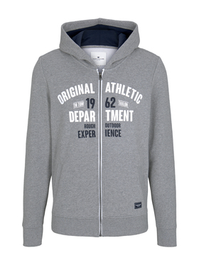 sweatjacket with front print