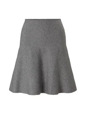 knitted skater skirt