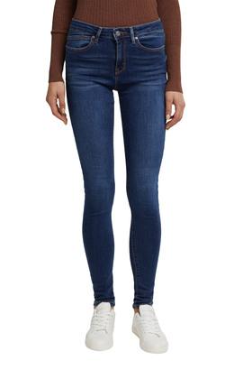 Washed Jeans mit Bio-Baumwolle