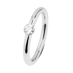 "Ring ""Stahl R465.WH"", Gr. 50"