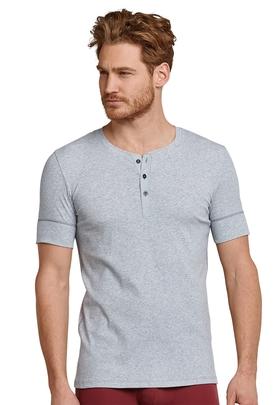 T-shirt Knopfleiste