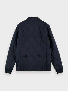 Classic quilted cotton-blend Jacket