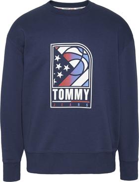 Sweatshirt mit Basketball-Logo