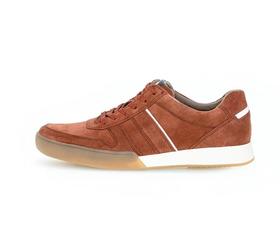 Sneaker aus Rauleder