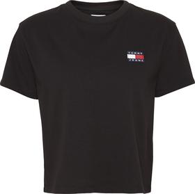 Rundhals-T-Shirt mit Tommy-Badge