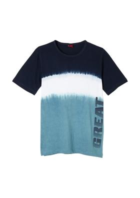 T-Shirt mit Farbverlauf