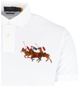 Poloshirt mit Motiv
