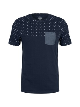 t-shirt with printed top