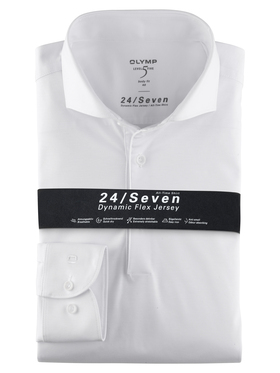 "Herren Jersey Hemd ""Level 5"" Body Fit"