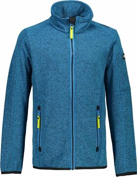 Fleecejacke in Strickoptik