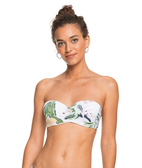 "Bandeau-Bikini Top ""Roxy Bloom"""