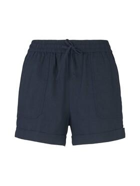 Relaxed Linen Shorts