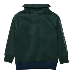 Sweatshirt mit Color-Blocking