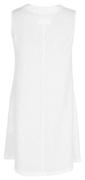 Dress, a-shape, v-neckline, sleevel