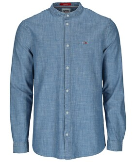 TJM CHAMBRAY MAO SHIRT