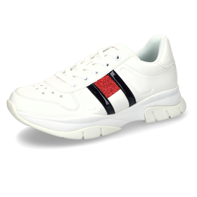 Sneaker mit Glitzer-Flag