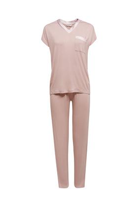 Jersey-Pyjama aus LENZING™ ECOVERO™