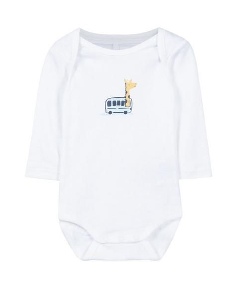 Gemusterte Baby-Body 3er Pack