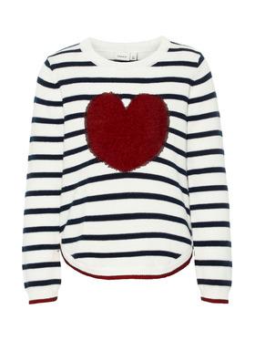 Langarmshirt mit Herz-Motiv