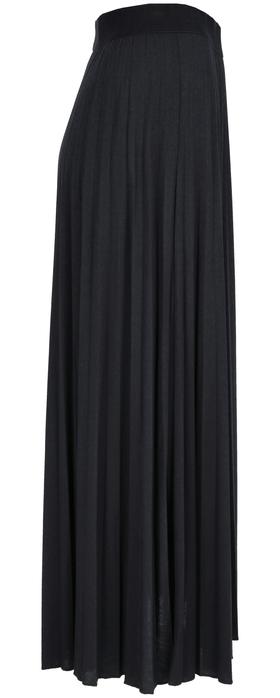 Jersey plissee skirt