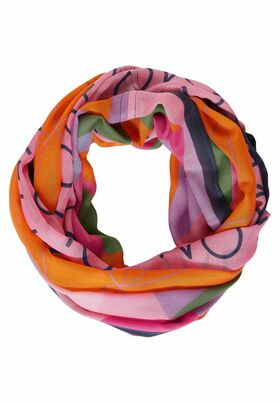 Loop mit Multicolour Print