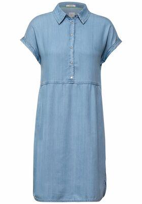 Kleid in Lyocell