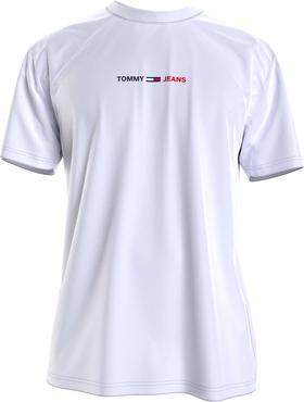 T-Shirt mit linearem Logo