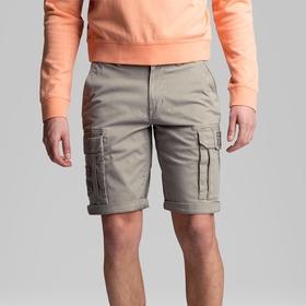 Rotor Shorts Twill Carbon Peach