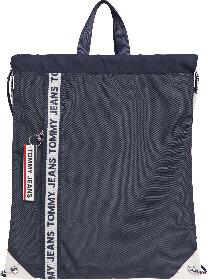 Tasche mit Logo-Tape und Tunnelzug