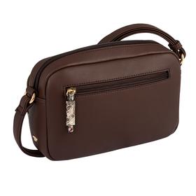 Esta Cross bag, Cross bag M snake brown