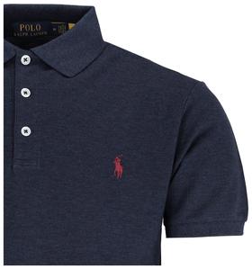 Slim-Fit Polohemd aus Stretchpiqué