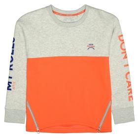 Sweatshirt mit Colourblock
