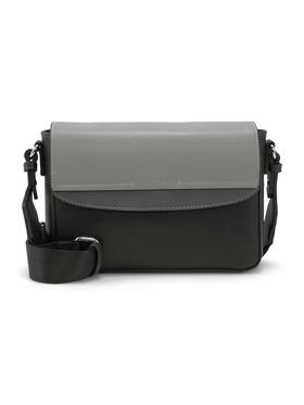 HENRIETTA Flap bag, mixed black