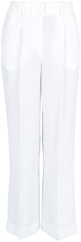 Pants, wide leg, medium rise, elast