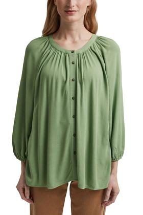 Crinkle-Bluse aus Lenzing™ Ecovero™