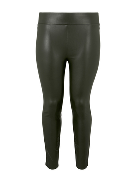 leggings leather look