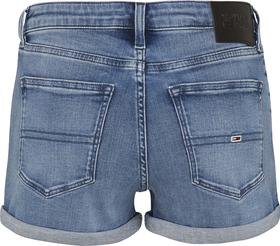 Jeans-Shorts mit Stretch und Fade-Effekt
