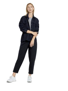 cozy striped shirt